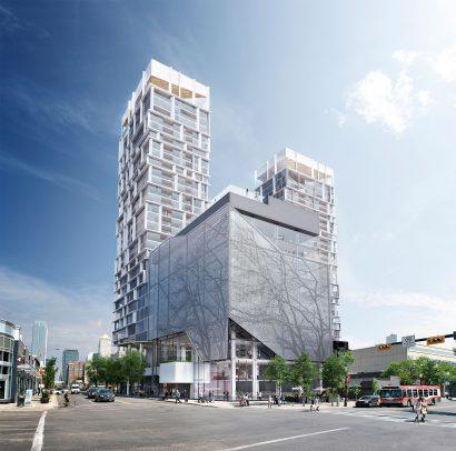 Tower exterior render 3D