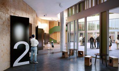 interior architecture school render