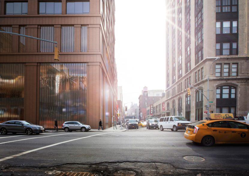 NYC skyscraper architecture render