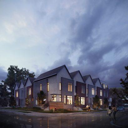 3D Canada render building