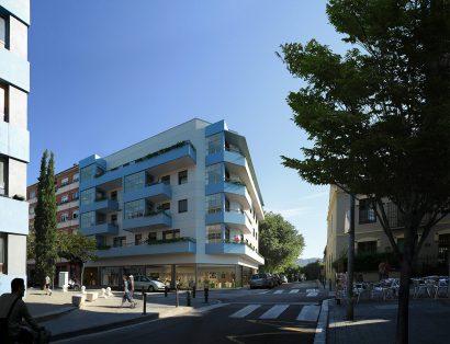 3D exterior architecture building render