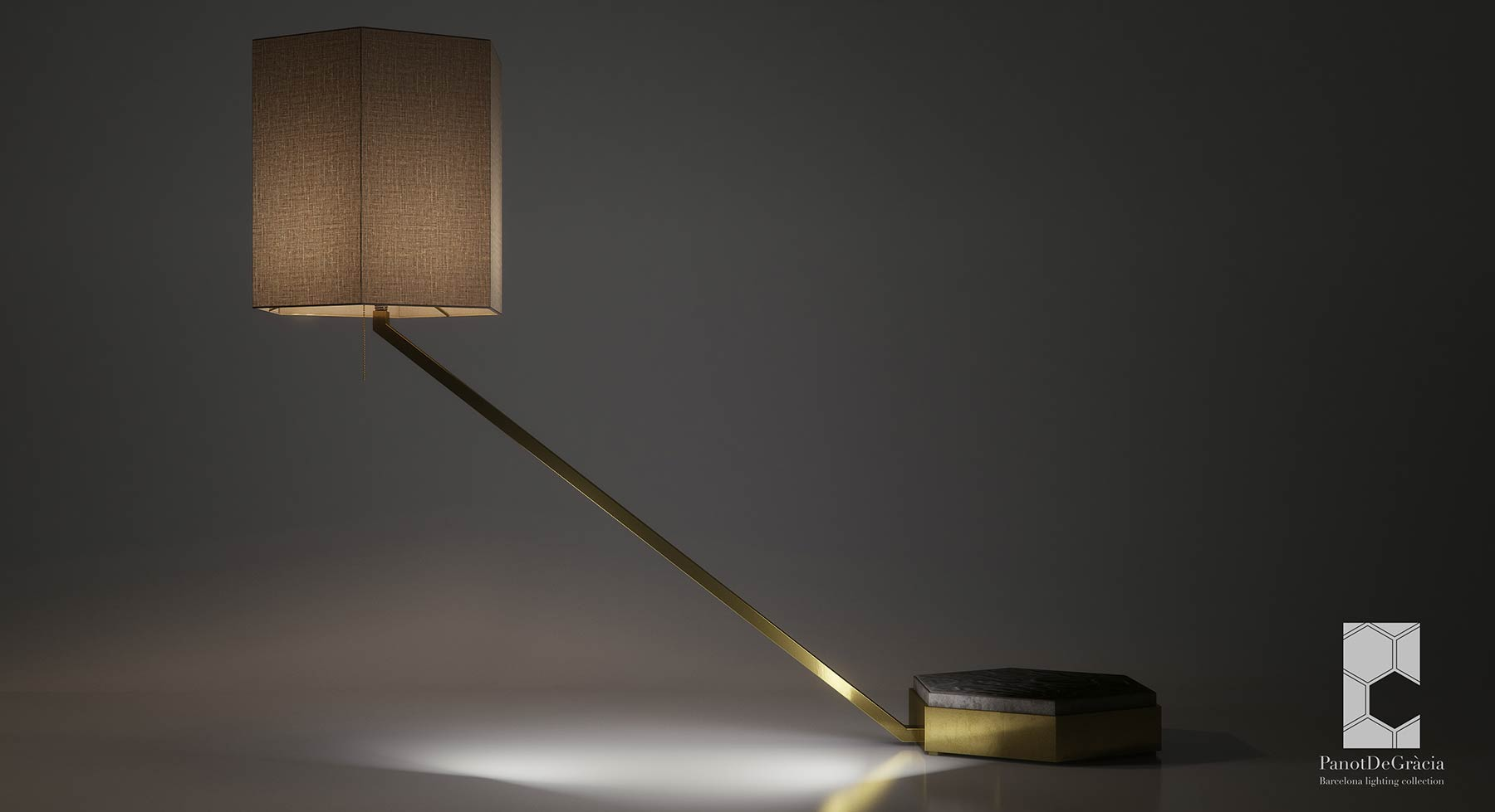 render lamp industrial design